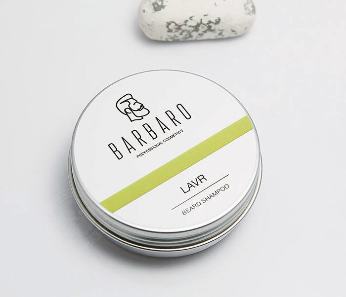RAZ1011 Шампунь мыло для бороды Barbaro «Lavr» (50 гр) фото 02