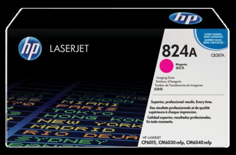 Оригинальный картридж HP CB387A (№824A), пурпурный