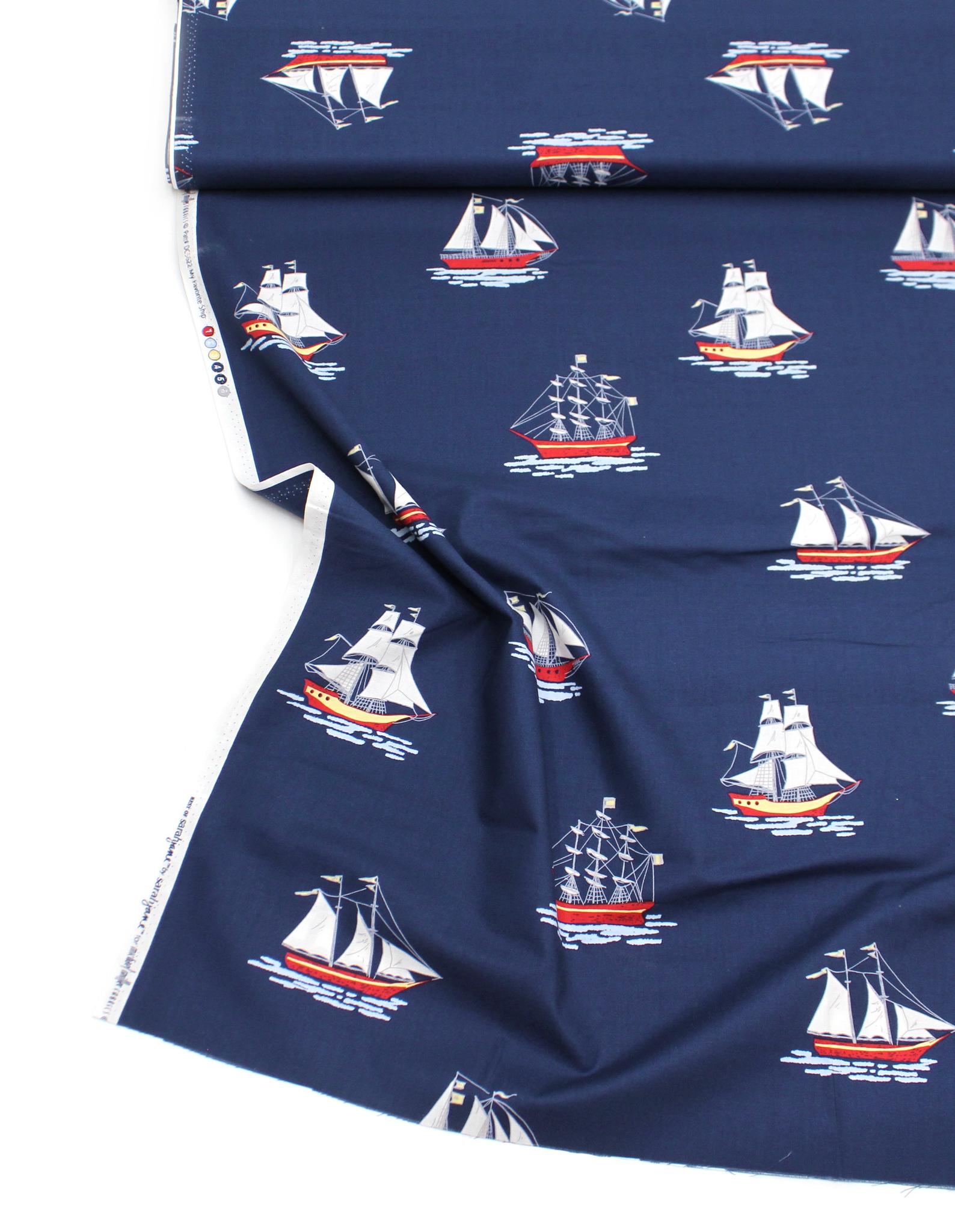 Корабли на синем