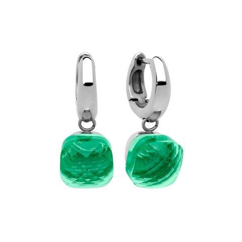 Серьги Firenze smaragd 300084 G/S