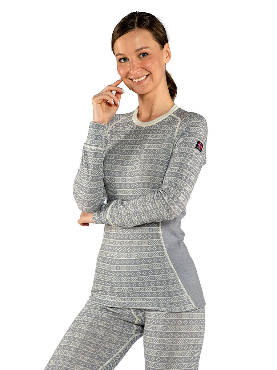 Devold термобелье футболка Alnes Woman Shirt Grey