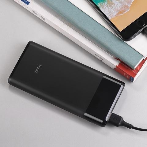 Портативный аккумулятор HOCO B35C Entourage 12000 мАч (Черный)