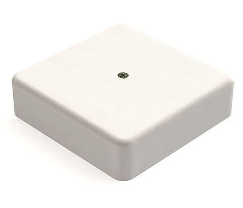 Коробка распаячная КР 75х75х28 ОП белая IP40 TDM