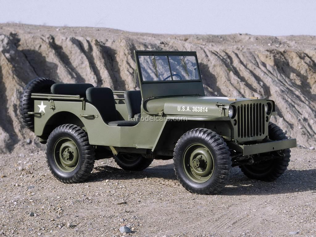 1:43 Military model Jeep Willys . 40 /_ DeAgostini Australia 1942
