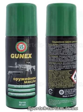 Оружейное масло Gunex (50 мл)
