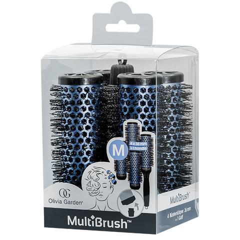 Набор брашингов MultiBrush 36 мм 4 шт со съемной ручкой в комплекте