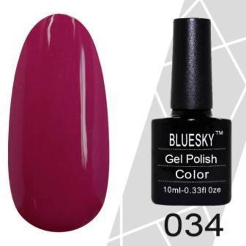Bluesky, Гель-лак M34