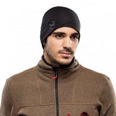 Теплая шерстяная шапка Buff Solid Black - 2