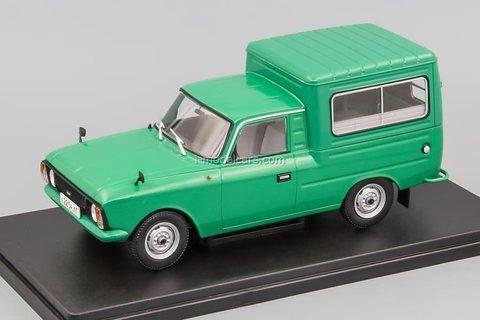 IZH-27156 green 1:24 Legendary Soviet cars Hachette #71