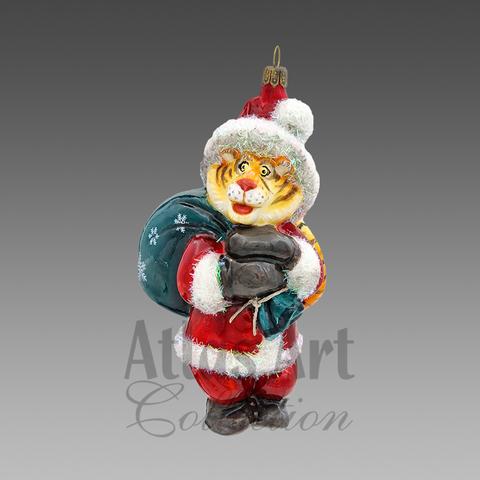 Полосатый Дед Мороз