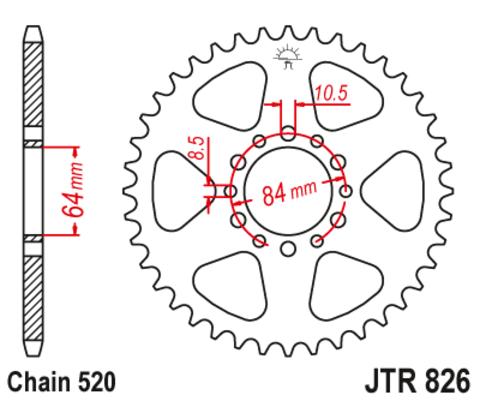 JTR826