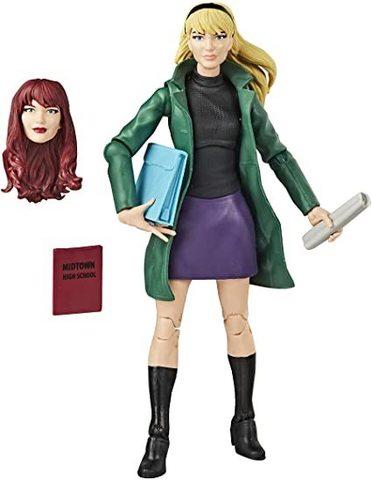Spider-Man Marvel Legends Retro Gwen Stacy Action Figure || Гвен Стейси