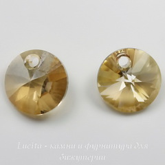 6428 Подвеска - Rivoli  Сваровски Crystal Golden Shadow (8 мм)