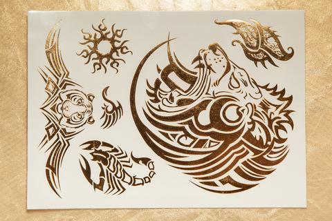 Флеш тату / Flash Tattoo №SD-8003 купить за 180руб