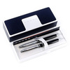 Набор подарочный Cross Avitar - Chrome Black, шариковая ручка + карандаш