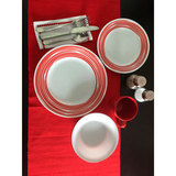 Тарелка закусочная 22 см Brushed Red, артикул 1118421, производитель - Corelle, фото 3