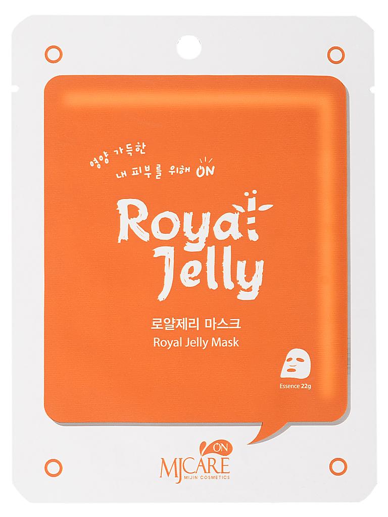 Тканевые Маска тканевая для лица с маточным молоком MJ on Royal Jelly mask pack МЖ74.jpg