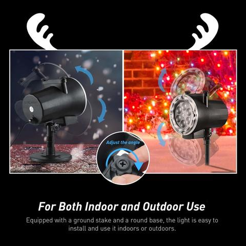 лазерный проектор легко можно установить как на улице так и в доме