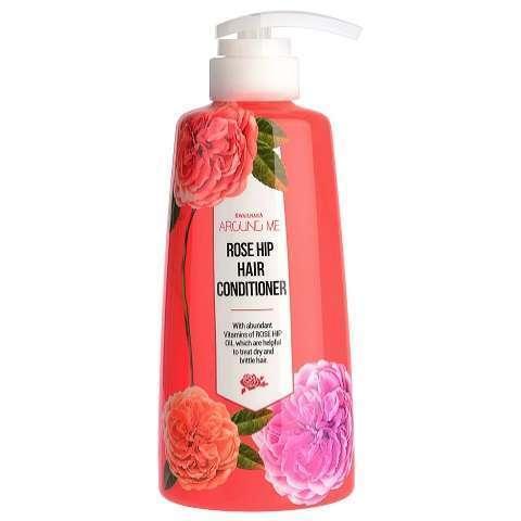 Кондиционер для волос WELCOS Around me Rose Hip Hair Conditioner 500мл