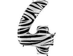 Г Цифра 4, Zebra (Зебра), 40