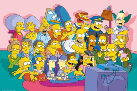 Лицензионный постер «Симпсоны»
