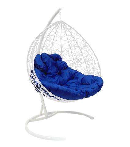Кресло подвесное Lagos TWIN white/blue