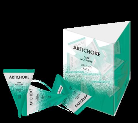 Ночная восстанавливающая маска для лица J:ON Artichoke Deep Moisture Sleeping Pack, 20 шт * 5гр