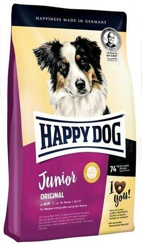 купить Happy Dog Supreme Young Line Junior Original сухой корм для юниоров в возрасте с 7-го месяца по 18-й месяц с птицей