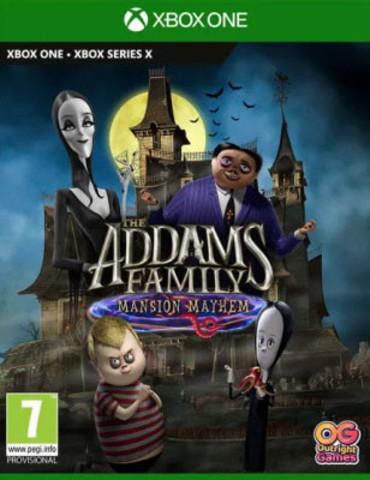 Семейка Аддамс: Переполох в особняке (Xbox, русская версия)