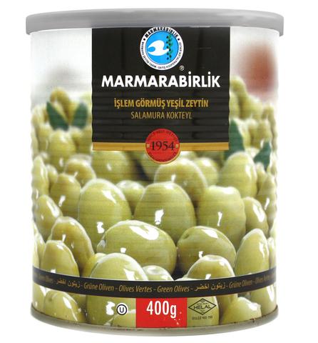Оливки зеленые 3XL, Marmarabirlik, 400 г