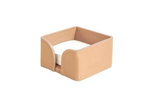 Лоток для блока бумаги из кожи цвет НАТУРАЛЬНЫЙ