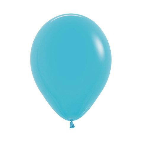 Латексный воздушный шар, цвет бирюзовый, пастель