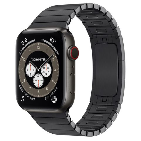 Умные часы Apple Watch Edition Series 6 GPS + Cellular 44mm Titanium Case with Link Bracelet (Space Black)