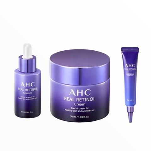 AHC real retinol special care set