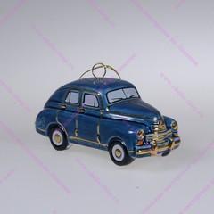 Фарфоровая ёлочная игрушка ГАЗ М20 Победа