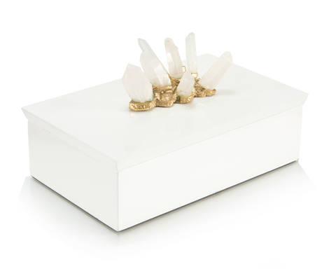Crystal Adornment White Box