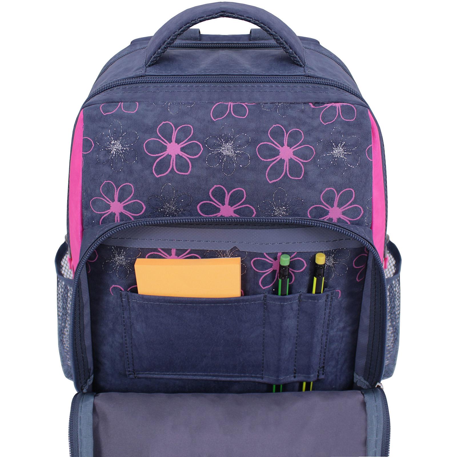 Рюкзак школьный Bagland Школьник 8 л. 321 серый 499 (0012870) фото 4