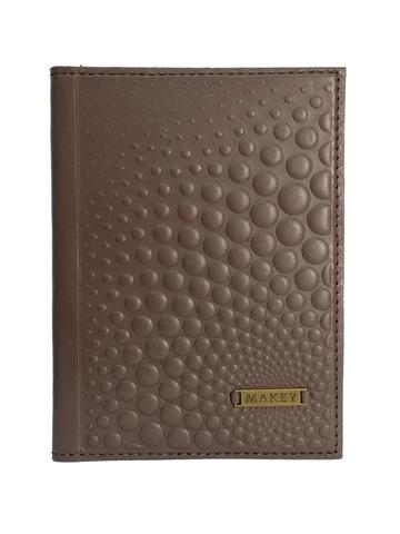 Обложка на паспорт   Bubbles   Баклажан