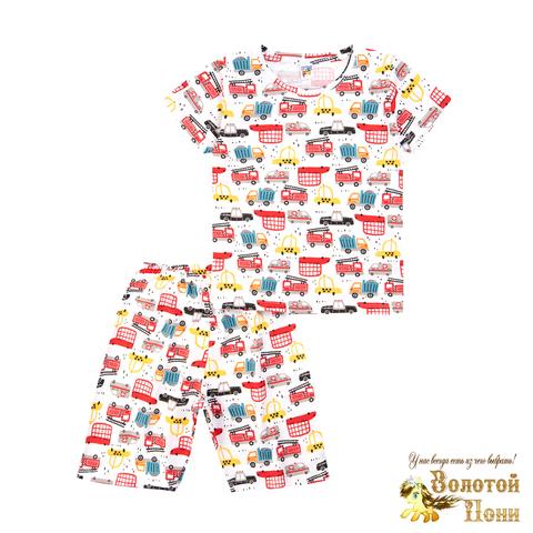 Пижама хлопок мальчику (3-7) 210805-MD59060