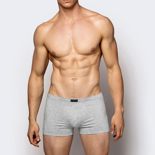Трусы мужские шорты Basic 3BMH-007 хлопок. Набор из 3 шт. SZM