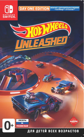Hot Wheels Unleashed. Day One Edition (Nintendo Switch, русские субтитры)