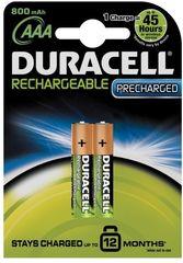 Аккумуляторы Duracell HR03 BLN04*10 (AAA) 800mAh