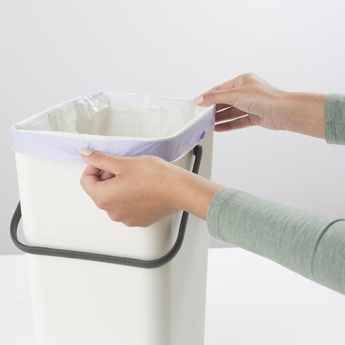 Встраиваемое мусорное ведро Sort & Go (16 л), Белый, арт. 109942 - фото 1