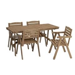 Комплект садовый стол и 4 складных стула Rosenberg