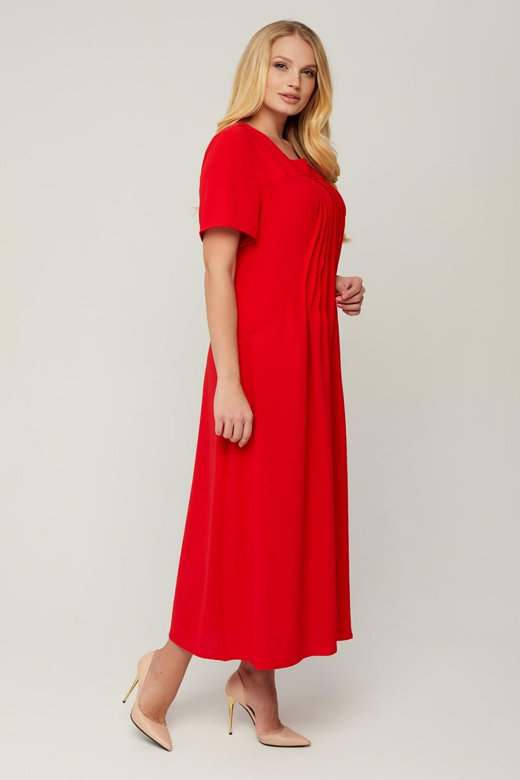 Платье Селия (красный)