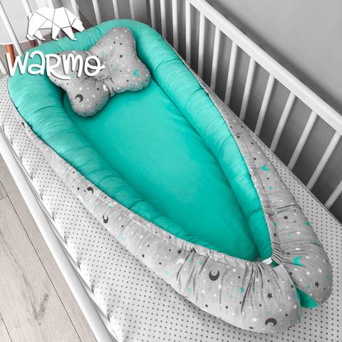 Кокон (гнездышко) для новорожденных Warmo™ НЕБО
