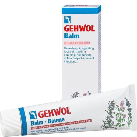 Бальзам тонизирующий для сухой кожи Авокадо, GEHWOL Balm Dry Rough Skin, 75 мл.