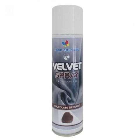 Шоколадный велюр,Темно-коричневый ,250мл