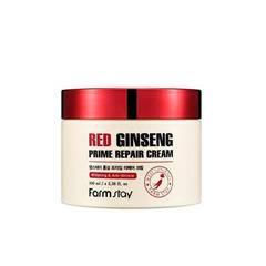 Восстанавливающий антивозрастной крем Farmstay Red Ginseng Prime Repair Cream 100ml