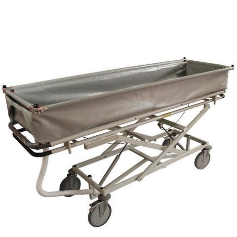 1290 Тележка внутрикорпусная ТВ-ММ многоуровневая для мытья пациентов - фото
